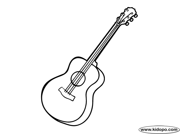 23 Guitar Coloring Page Images | FREE COLORING PAGES