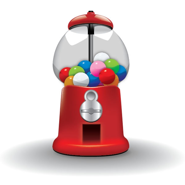 gumball machine coloring page - gumball machine pictures