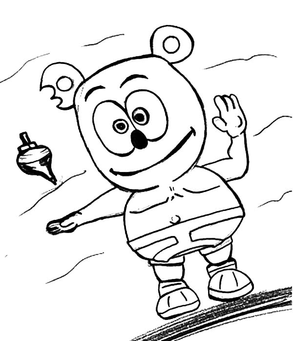 gummy bear coloring page - gummy bear coloring pages