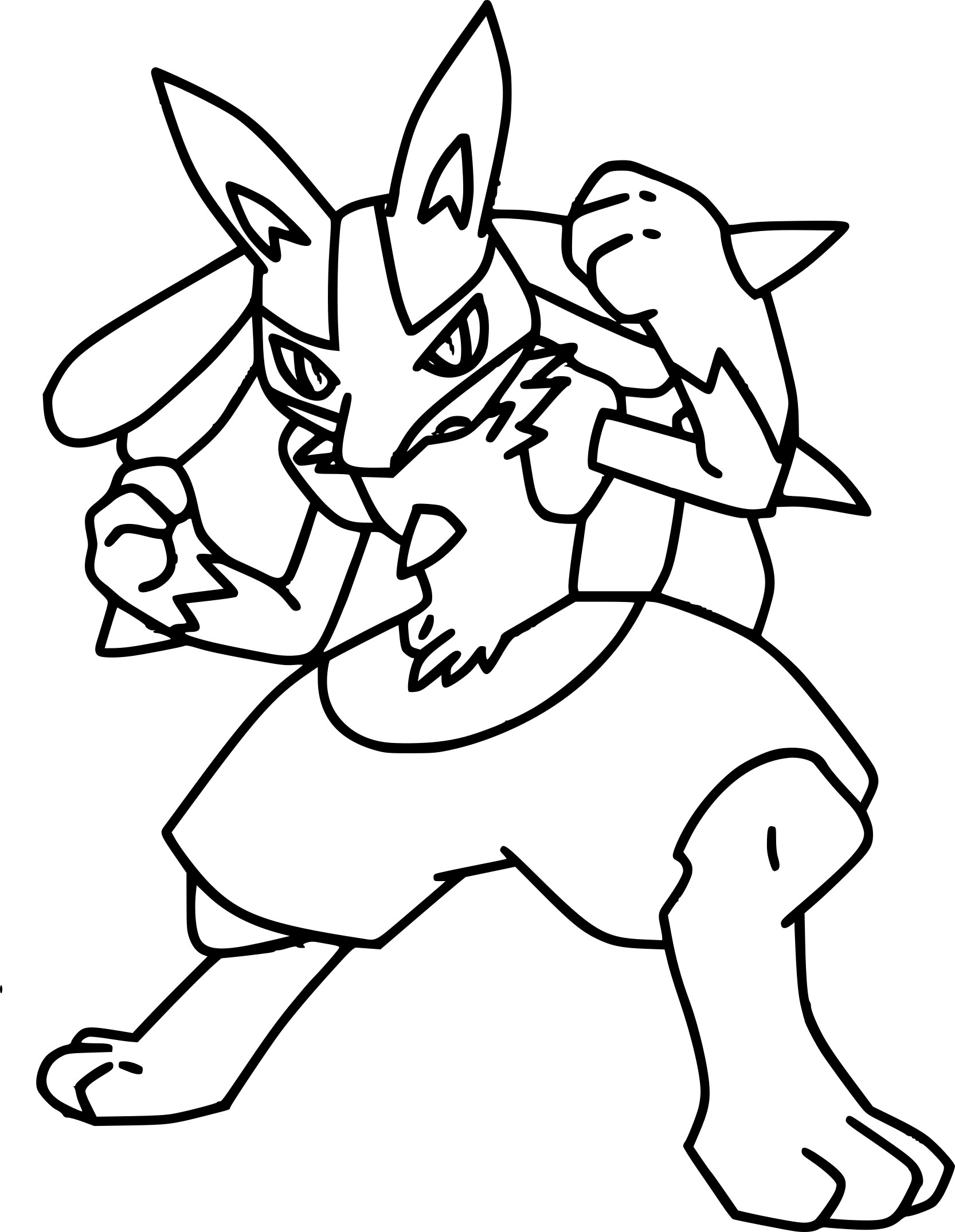 Pokemon Ausmalbilder Mega Lucario : 28 Hair Coloring Pages Collections Free Coloring Pages Part 2