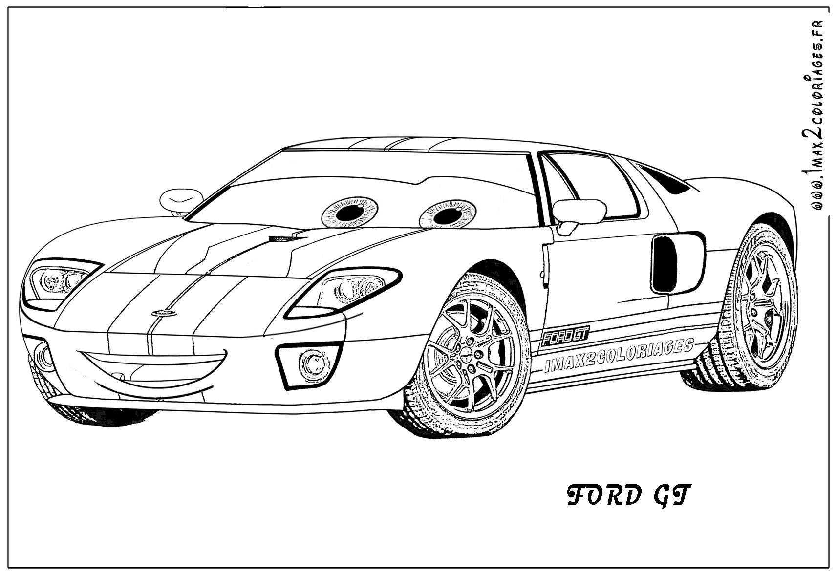 hamilton coloring pages - cars