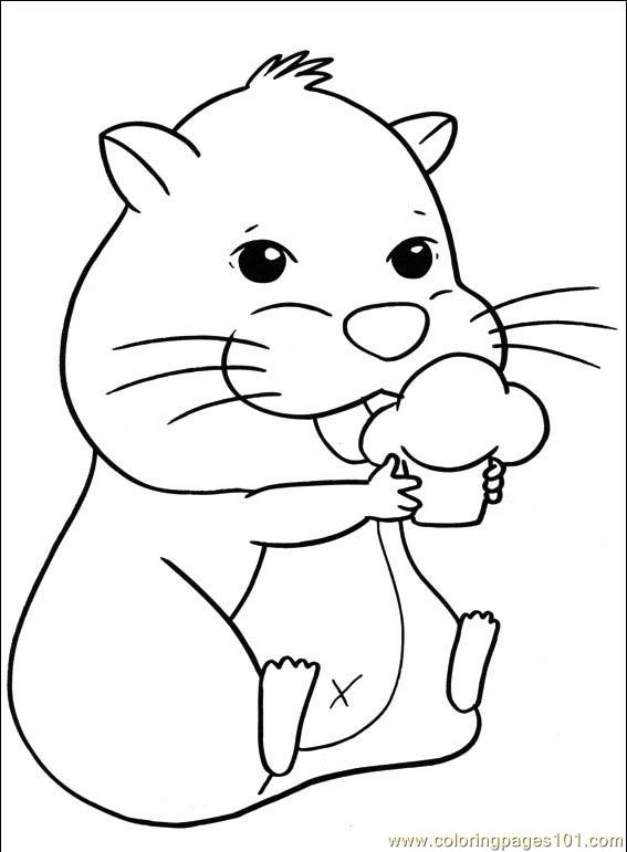 28 Hamster Coloring Pages Selection FREE COLORING PAGES Part 2