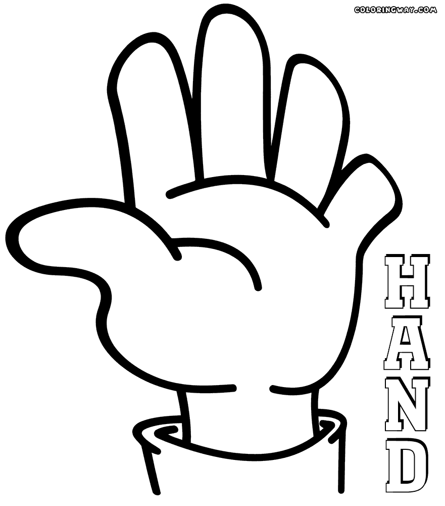 hand coloring page - q=roper hand washing