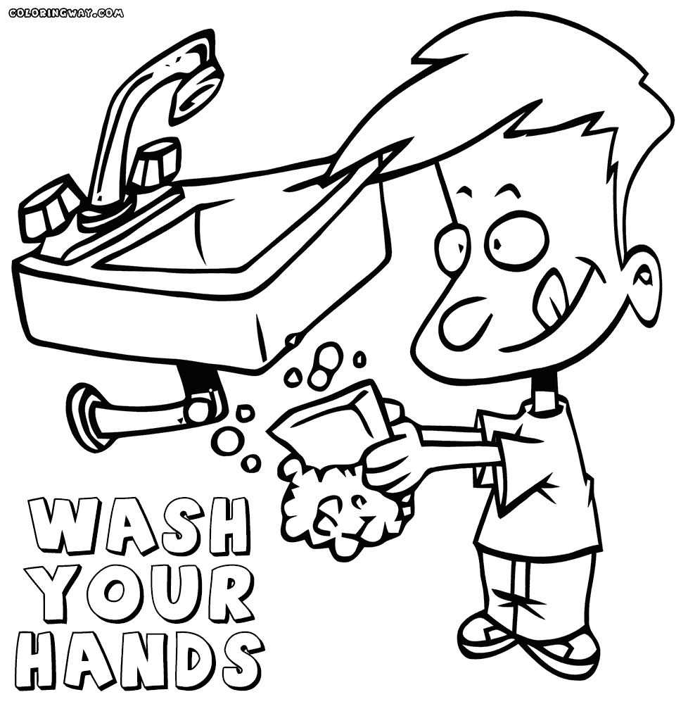 handwashing coloring pages - preschool hand washing coloring pages photo gallery of for preschoolers