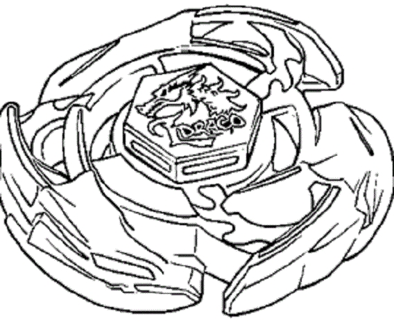 handy manny coloring pages - beyblade 2
