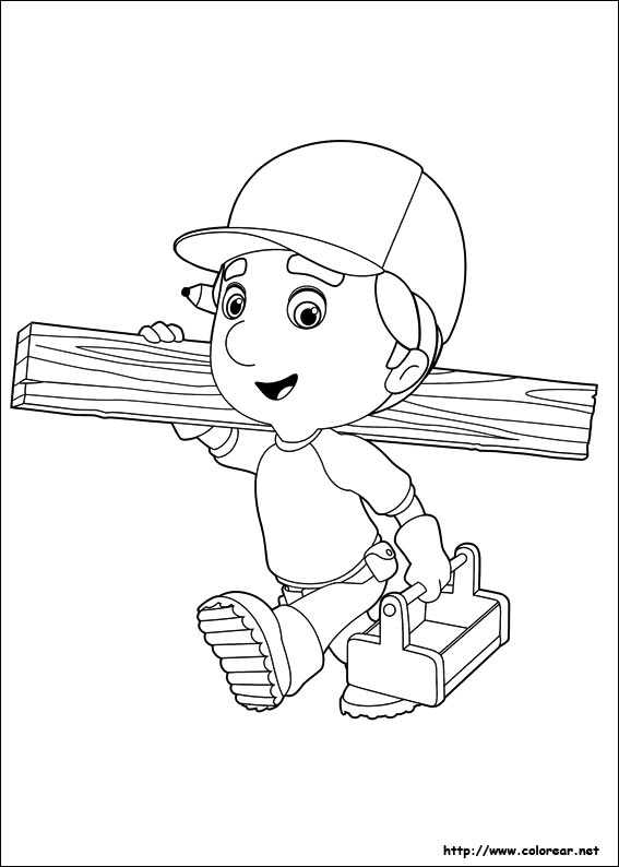 handy manny coloring pages - dibujos 9602
