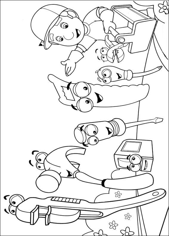 24 Handy Manny Coloring Pages Printable | FREE COLORING PAGES