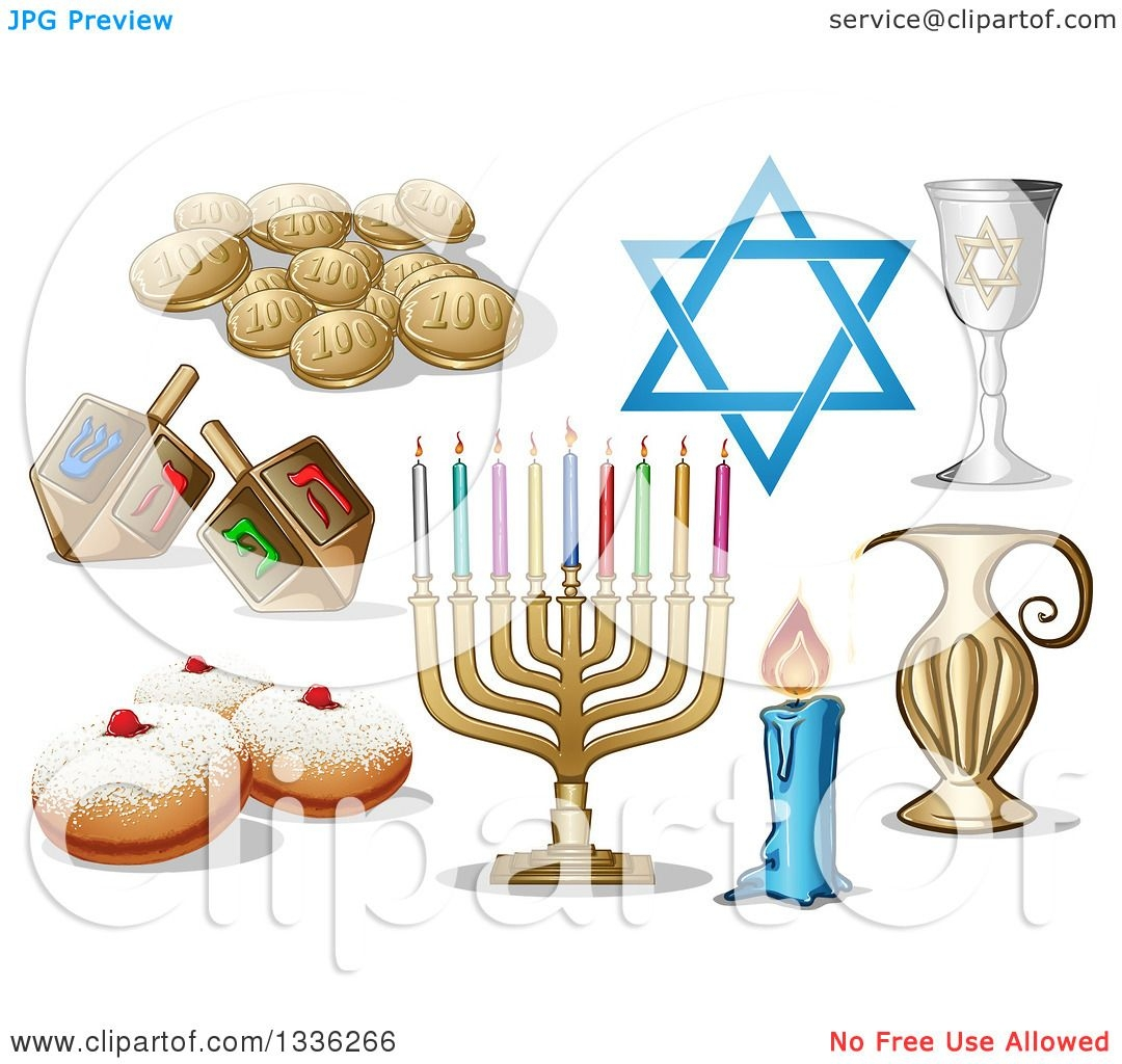 hanukkah coloring pages - jewish holiday hanukkah items