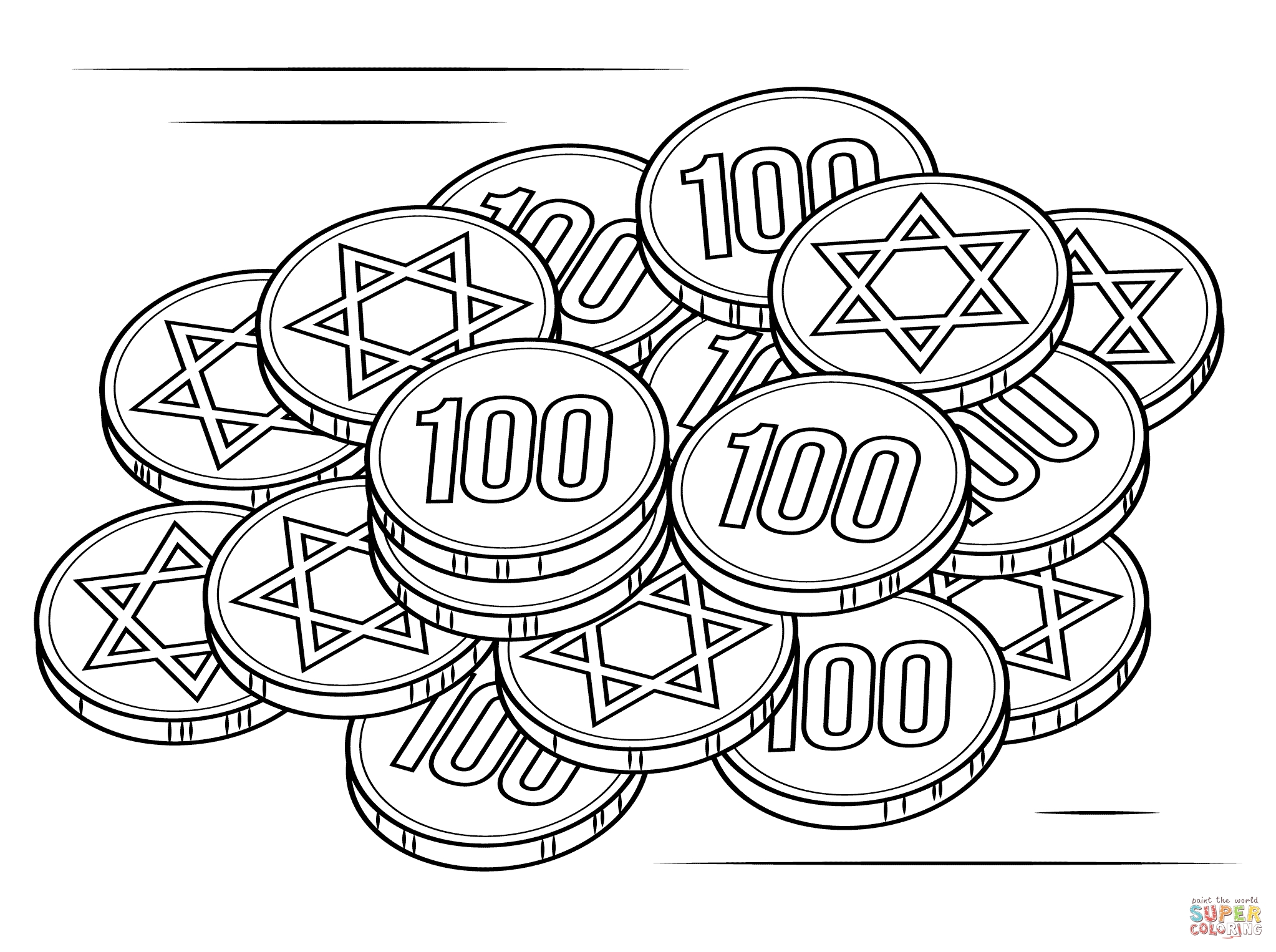 hanukkah coloring pages printable - coloring pages for hanukkah
