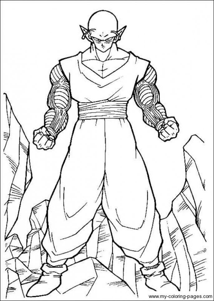 happy birthday coloring pages printable - printable dragon ball z coloring pages online