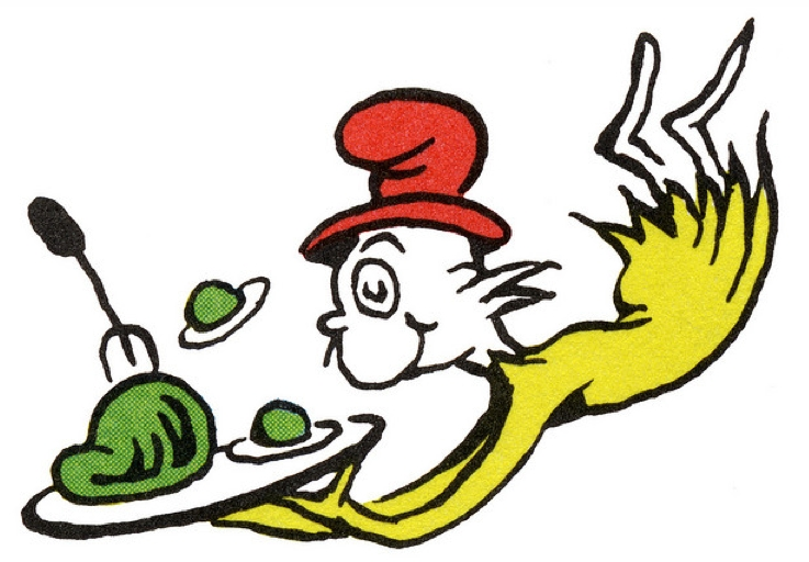 happy birthday dr seuss coloring pages - recipe for green eggs
