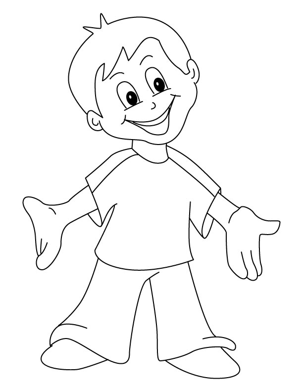 Happy Coloring Pages - Happy Coloring Page