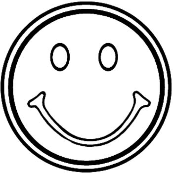 Happy Face Coloring Page - Happy Face Coloring Pages Clipart Best