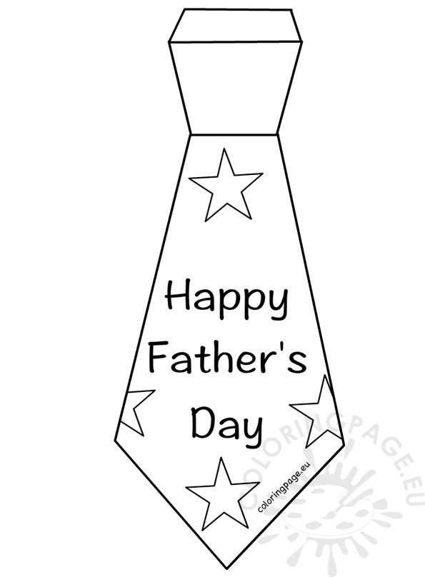 picture relating to Father's Day Tie Template Printable named Totally free COLORING Internet pages Coloring Sheets Choice - Element 2347