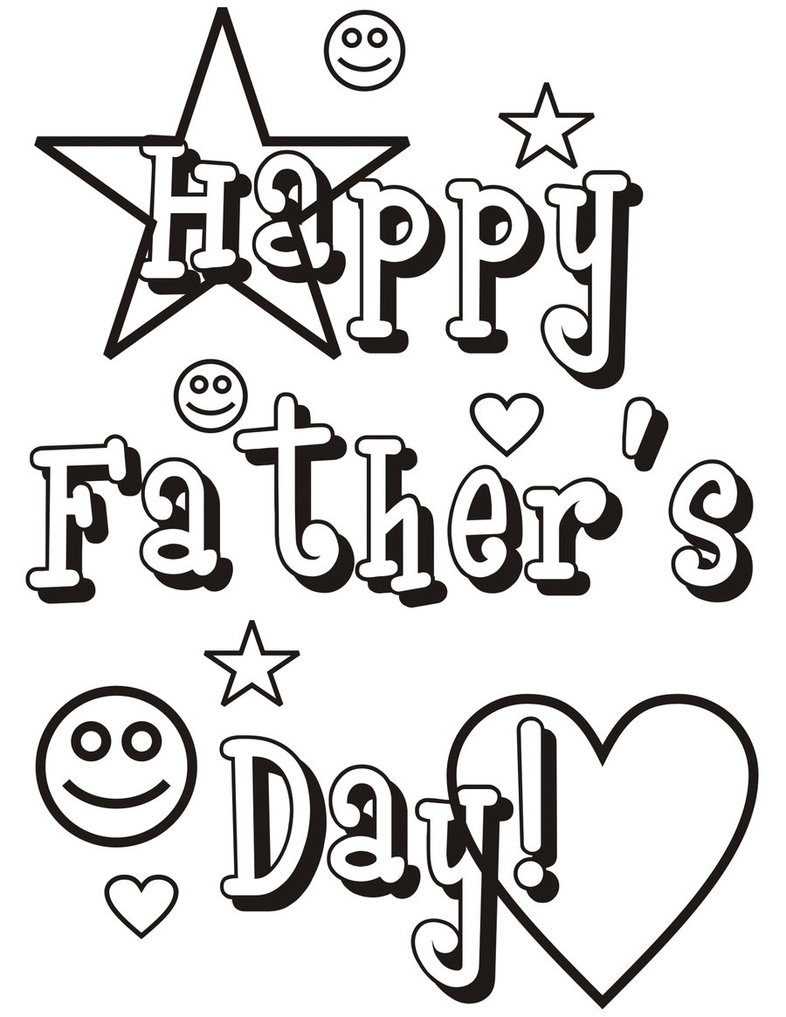 happy fathers day coloring pages - happy fathers day coloring pages 214