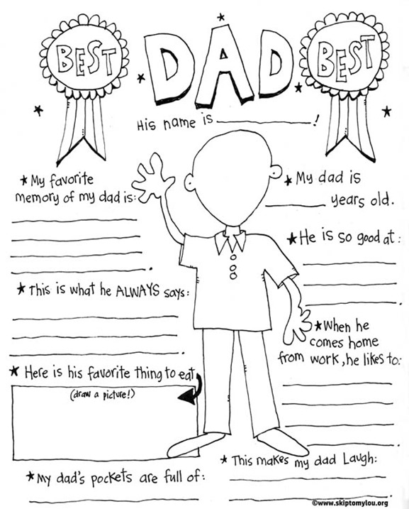 happy fathers day coloring pages printable - free fathers day printable t ideas