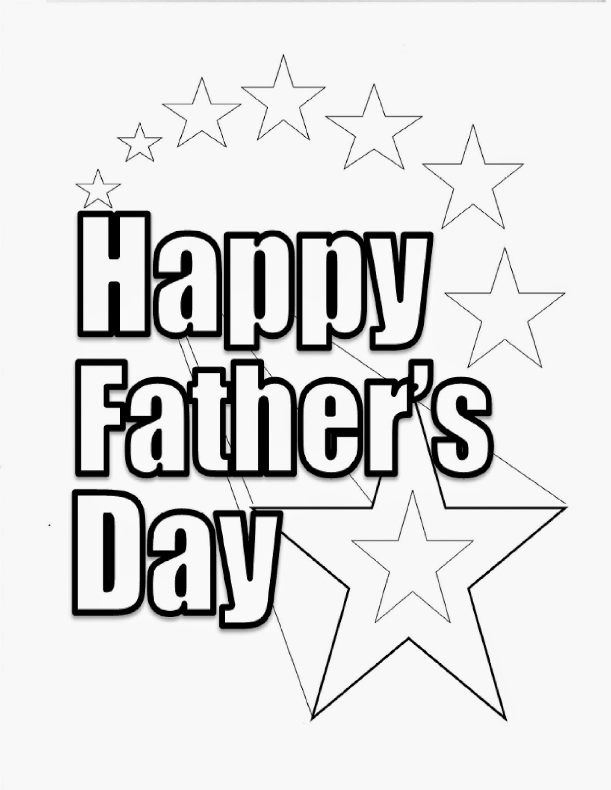happy fathers day coloring pages printable - fathers day coloring pages