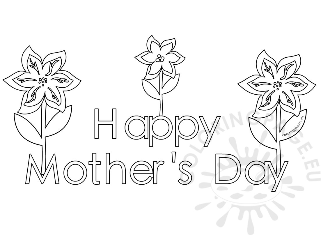 happy mothers day coloring pages - happy mothers day coloring pages for kids