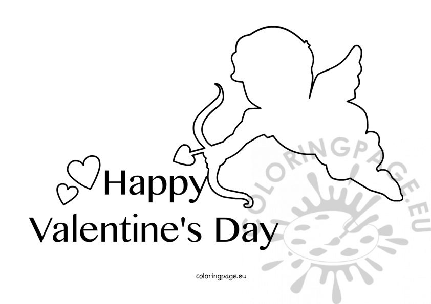 Happy Valentines Day Coloring Pages - Happy Valentine S Day 2016