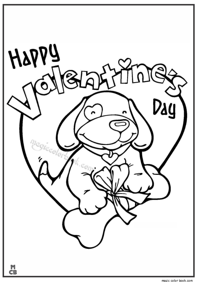 happy valentines day coloring pages - happy valentines day coloring pages