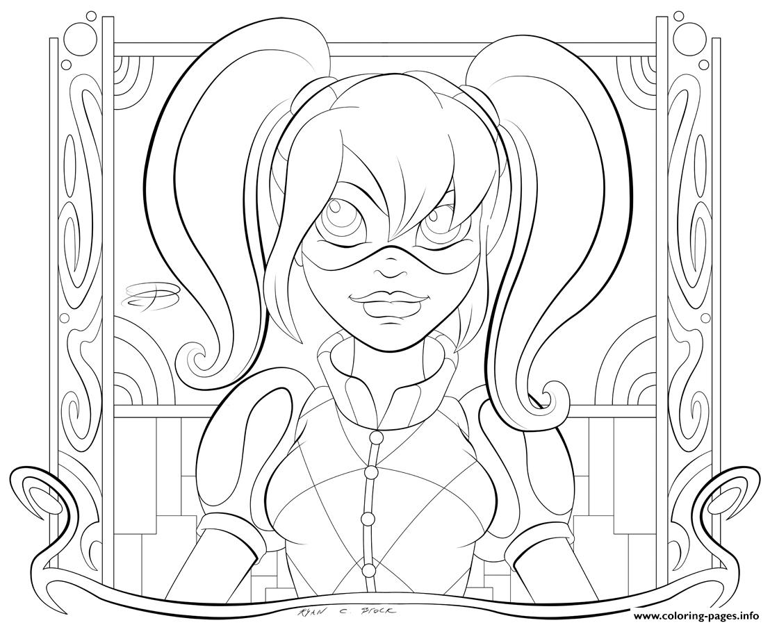 harley quinn coloring pages - harley quinn coloring pages