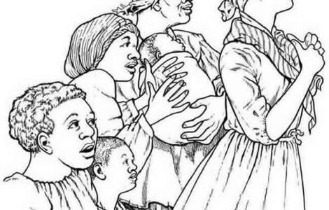 harriet tubman coloring page -