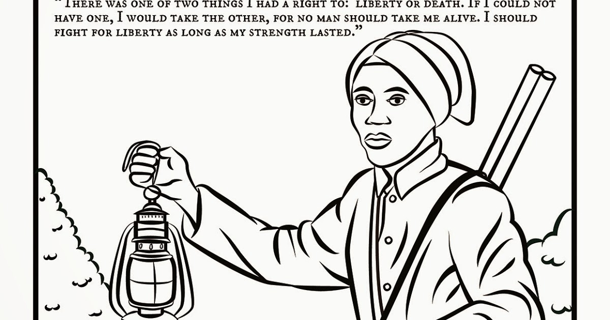 20 Harriet Tubman Coloring Page Compilation | FREE COLORING ...