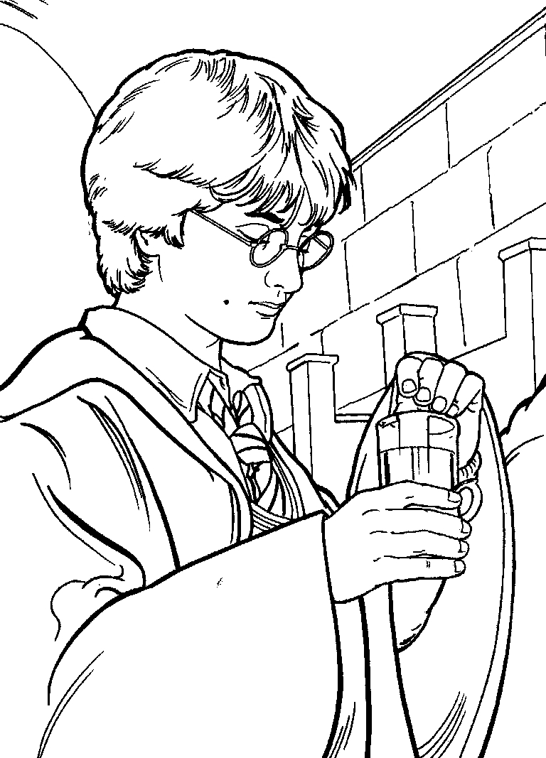 harry potter printable coloring pages - harry potter coloring pages