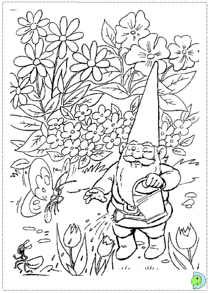 harry potter printable coloring pages - 052 coloring davidGnome 09