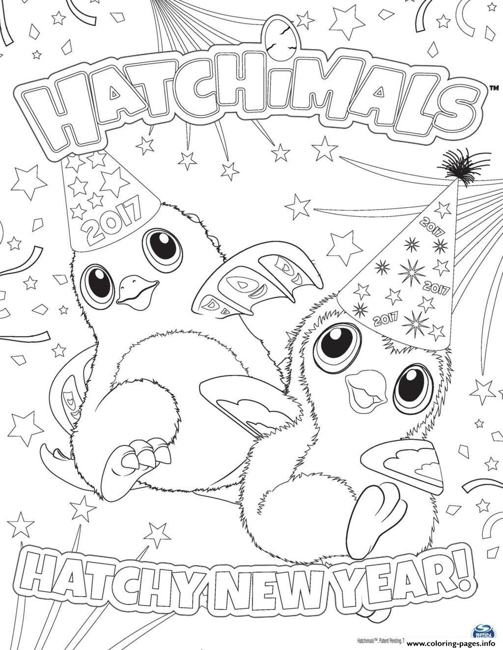 hatchimal coloring pages -