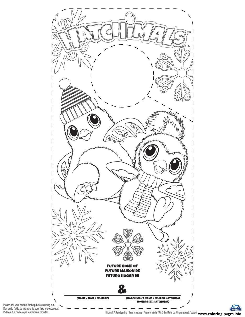 hatchimal coloring pages - hatchy hatchimals color printable coloring pages book