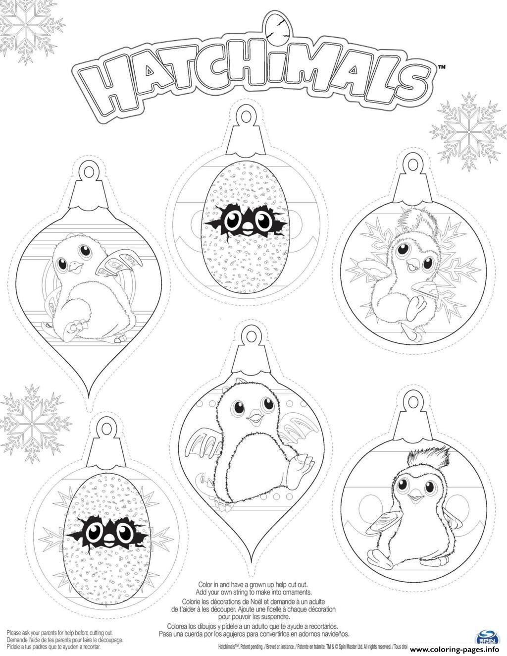 hatchimal coloring pages - hatchy hatchimals penguala draggles printable coloring pages book