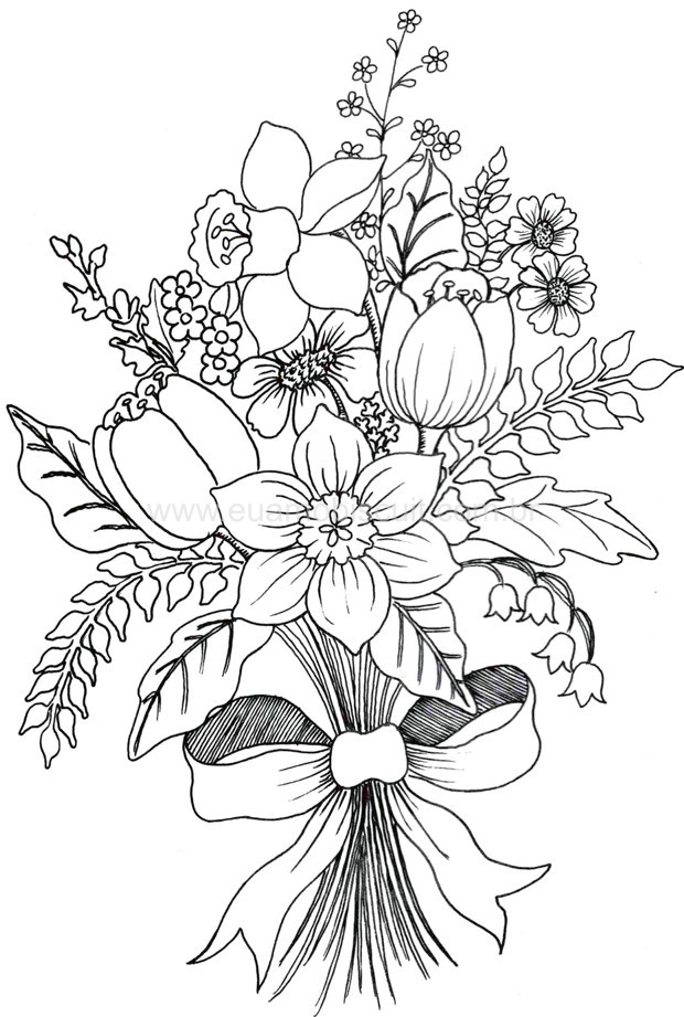 hawaii coloring pages - flores19