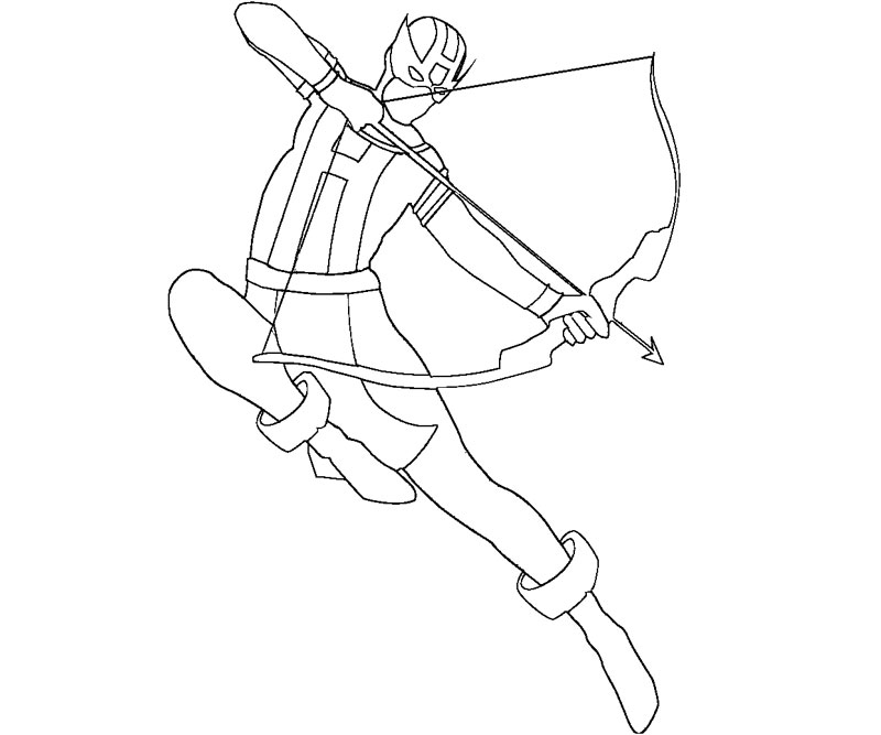 25 Hawkeye Coloring Pages Pictures | FREE COLORING PAGES - Part 3