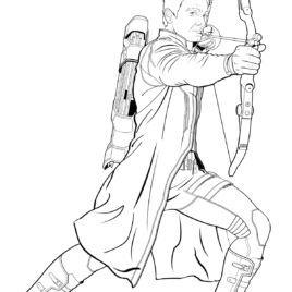 25 Hawkeye Coloring Pages Pictures Free Coloring Pages