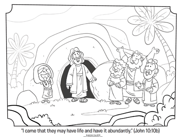 He is Risen Coloring Page - Free Coloring Pages Of He Has Risen Page 3