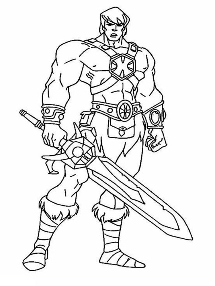 he man coloring pages - he man coloring pages
