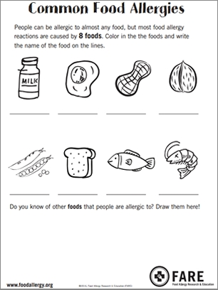 healthy food coloring pages - Resources