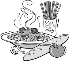 healthy food coloring pages - sw nahrung