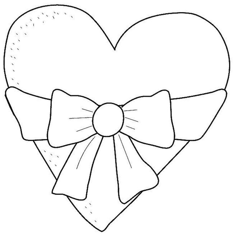 heart coloring pages - coloring pages of hearts
