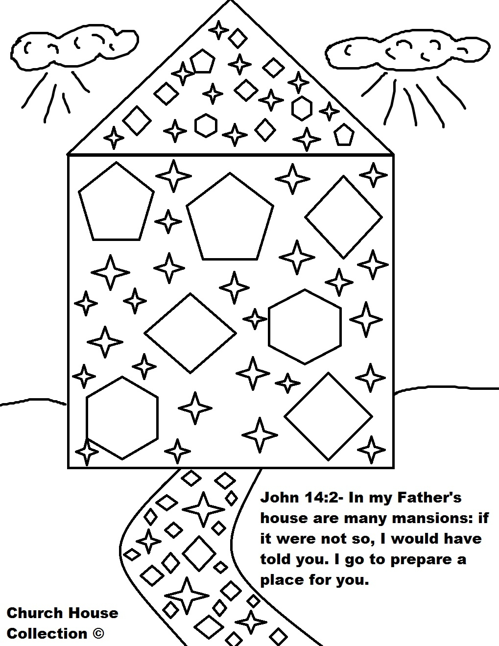 24 Heaven Coloring Pages Collections | FREE COLORING PAGES
