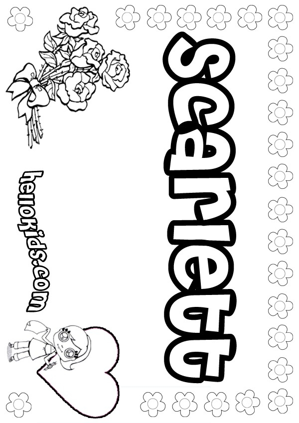 hellokids com coloring pages - scarlett