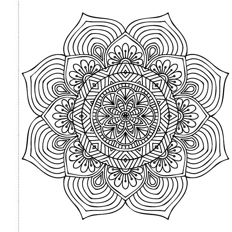 28 henna coloring pages printable free coloring pages for Henna coloring pages