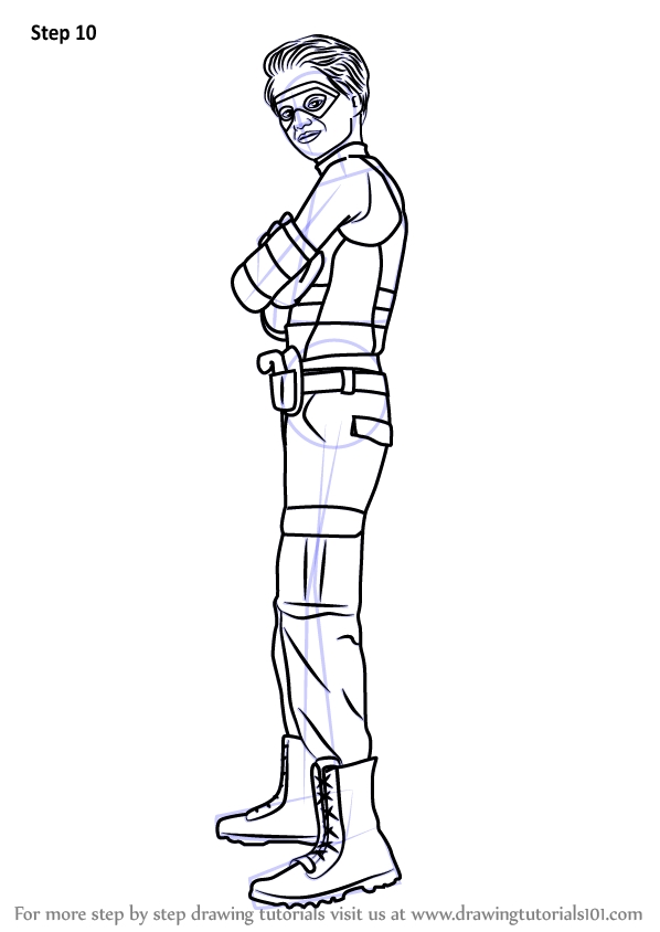 Henry Danger Coloring Pages