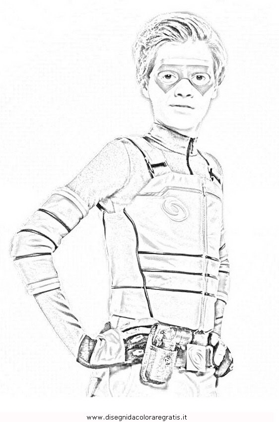 28 Henry Danger Coloring Pages Compilation Free Coloring Pages - Danger-coloring-pages