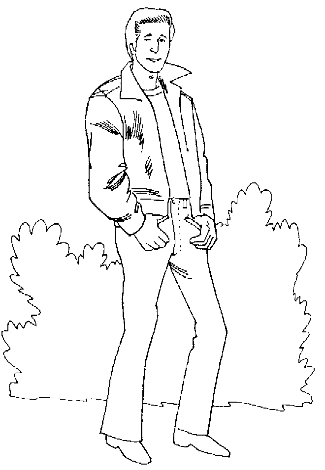 Coloring Page Fire Danger