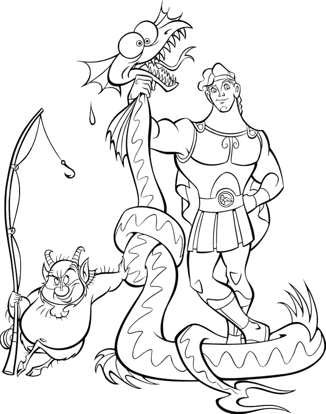Hercules Coloring Pages - Hercules Coloring Pages Coloringpages1001
