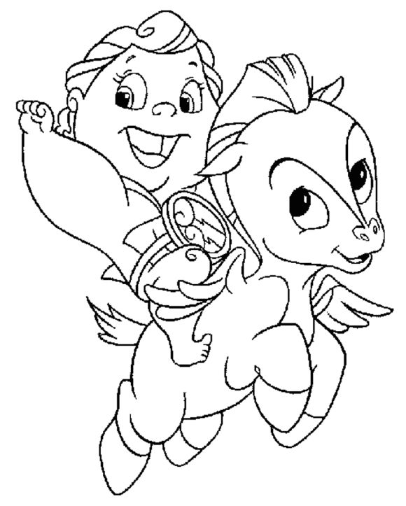 hercules coloring pages -