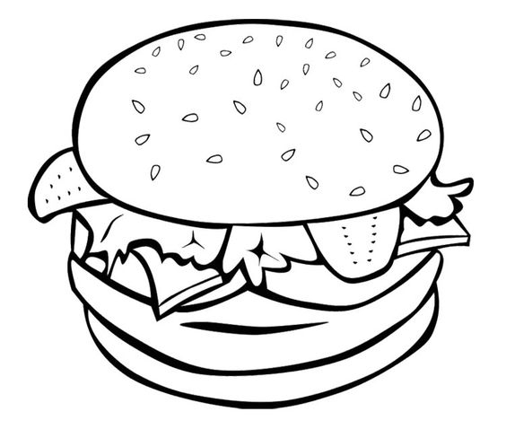 hero coloring pages - coloring pages of food