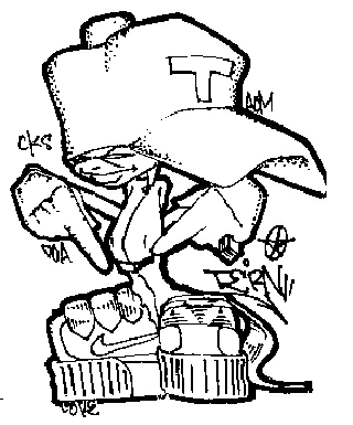 hip hop coloring pages - tern